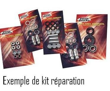 Kit reconditionnement de triangle inférieur PIVOT WORKS SUZUKI 250/500cc