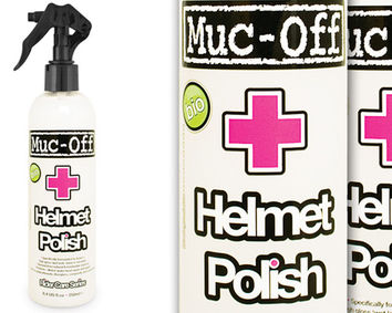Helmet Polish MUC-OFF Polish pour casque 250 ml
