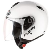 voir Casque AIROH Jet FLY CITY Blanc Brillant