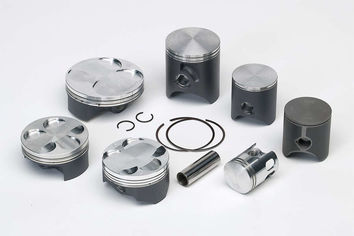 Kit piston VERTEX coulé Beta RK6 Enduro/K 50 Trial/ST 50 1995-1997, KTM EXC 50 1994-1997 Bisegment