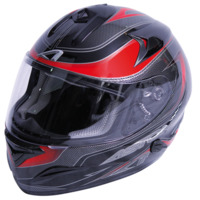 voir Casque ASTONE 2012 GTB Graphic Exclusive Carbon Rouge