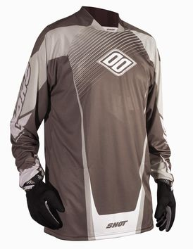 Maillot SHOT Quad 2012 Marron