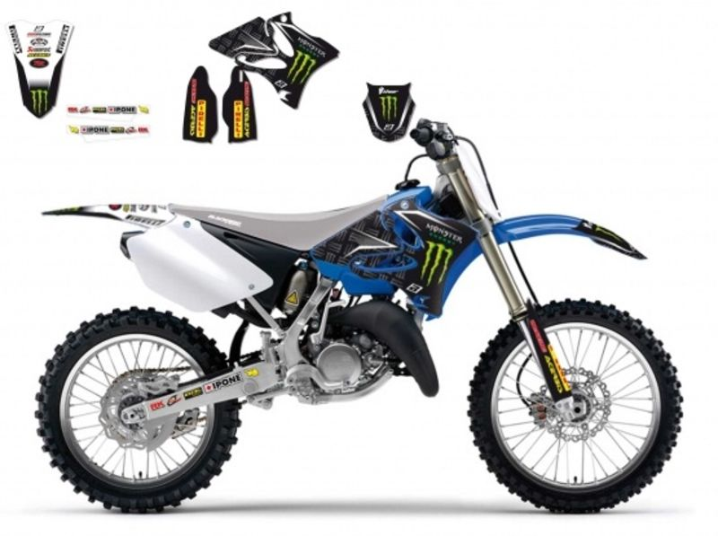 kit d 233 co blackbird replica team yamaha energy 125 250 yz 2002 pictures to pin on
