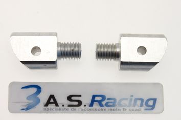 Supports Repose-pieds Passager ALLOY ULTIMA HONDA 125 à 1300cc