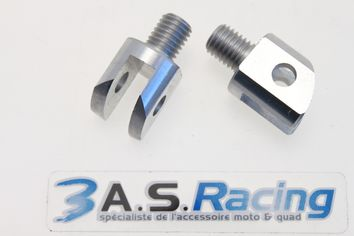 Supports Repose-pieds Pilote ALLOY ULTIMA YAMAHA YZF R-6 2003-14 / YZF-R1 2002-14