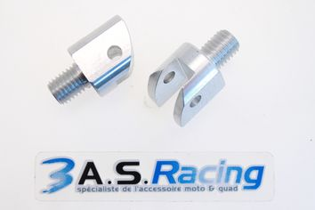 Supports Repose-pieds Pilote/Passager ALLOY ULTIMA DUCATI