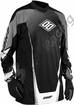 Maillot cross SHOT 2017 Quad Noir