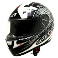voir Casque ASTONE 2013 GTO Graphic Exclusive Radius Blanc