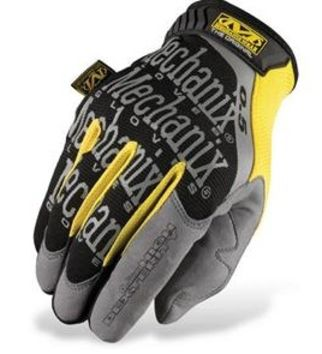 Gants MECHANIX 2013 Original 0.5 Noirs/Gris/Jaunes