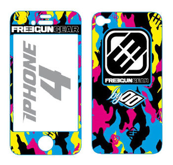 Sticker FREEGUN Iphone 4 - Camo