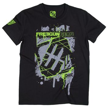 Tee Shirt FREEGUN by SHOT Square