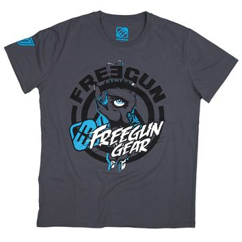 Tee Shirt FREEGUN by SHOT Tetra